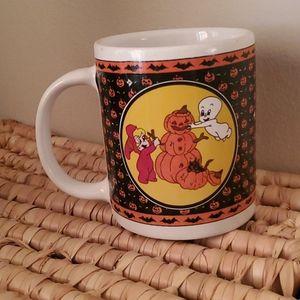 Vintage Casper & Wendy the Witch Halloween Mug